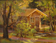 """""""MacGregor Ranch Root Cellar"""" Margaret Jensen 8x10"""