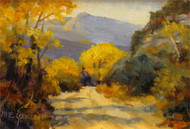 """On the Trail, Rocky Mountain National Park"" Margaret Jensen 5x7"