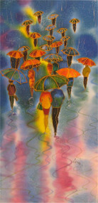 """""""Sun Ray"""" by Yelena Sidorova 12x24"""
