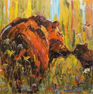 """""""Mama's Bear"""" Dawn Normali 24x24"""