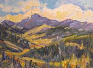 """Longs Peak"" Dawn Normali 11x14"