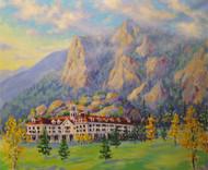 """Stanley Hotel, Estes Park"" Julia Dordoni 20x24"