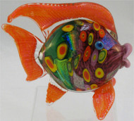"""Small Fish in Citrus"" by Michael Maddy & Rina Fehrensen, Mad Art Studio"