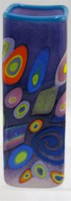 """""""Small Square Vase in Purple"""" by Michael Maddy & Rina Fehrensen, Mad Art Studio"""