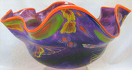 """Orb Shell in Purple, Orange Lip"" by Rollin Karg"