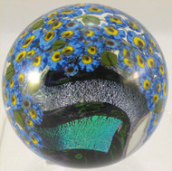 """Forget-Me-Not Paperweight"" by Shawn Messenger"