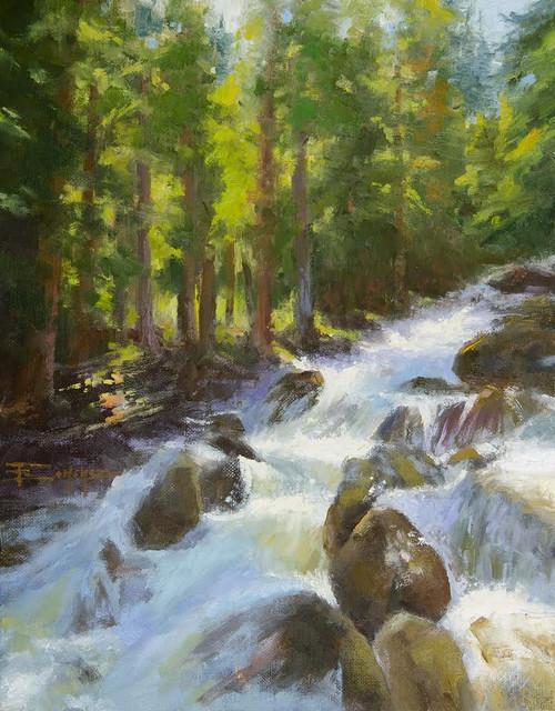 """Calypso Cascades"" Terri Sanchez 11x14"