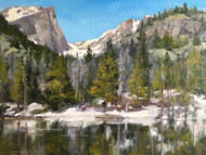 """Springtime at Dream Lake"" Terri Sanchez 11x14"