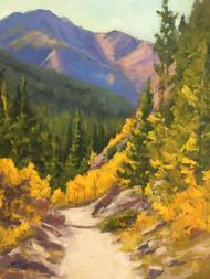 """""""Autumn Hike"""" Terri Sanchez 11x14"""
