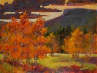 """""""Bristol Head Aspens"""" by Coni Grant, 12x16 Acrylic"""