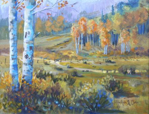 """October Morning"" Heather Coen 11x14"