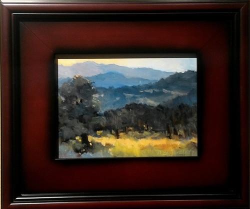 """""""Morning Mountains"""" Margaret Jensen 6x8"""