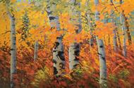 """""""Late Fall"""" Stanislav Sidorov 24x36"""