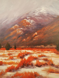 """Moraine Winter"" Terri Sanchez 18x24"