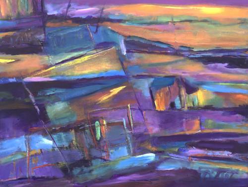 """Drifting"" by Laura Brenton 18x24"