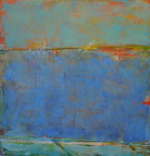 """""""Sea Song"""" by Karen Barnett 30x30"""