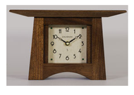 Craftsman Mantel Clock in Solid Walnut 10w x 5.5h x 4d