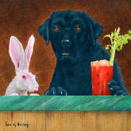 """""""Hare of the Dog"""" Metal Print by Will Bullas"""