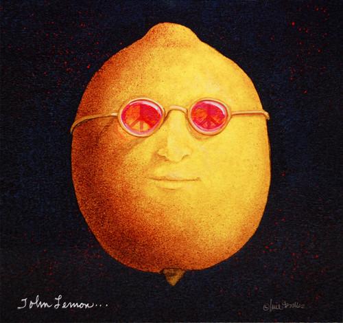 """""""John Lemon"""" Metal Print by Will Bullas"""