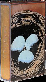 """Houston Llew Spiritile #060, """"Masterpiece""""- Molten glass over copper art."""