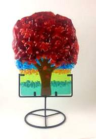 """""""Mini Tree in Red"""" by Anne Nye"""