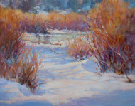 """Osher in Winter"" Margaret Jensen  11x14"