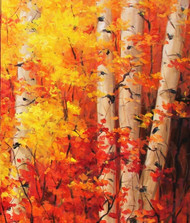 """The Glorious Season of Autumn"" Tim Howe 24x30"