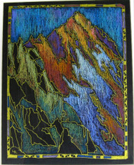 """Mount Sneffels, Colorado"" by Lou Renner 11x14"