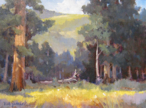 """Across the River, Endovalley"" Margaret Jensen 11x14"