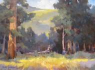 """Across the River, Endovalley"" Margaret Jensen 11x14"