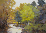 """Big Thompson Spring"" Margaret Jensen 9x12"