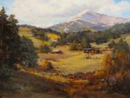"""Below Mount Meeker"" Margaret Jensen  14x18"