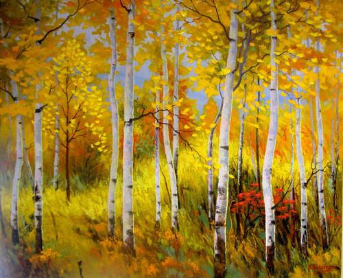 """""""Joy of Colors"""" Stanislav Sidorov 24x30"""