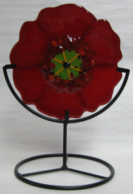 """Red Lollie Poppy"" by Anne Nye"