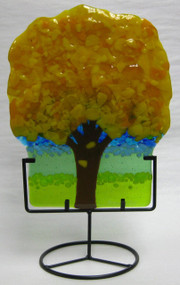 """Mini Tree in Yellow"" by Anne Nye"