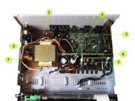 Denon AVR-591 parts