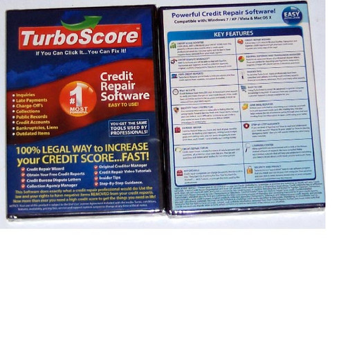 Turbo Score Credit Repair Software