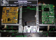 TV Toshiba 39L4300U parts