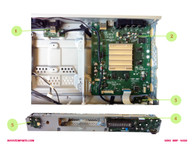 SONY BDP - N460 parts