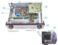 Pioneer VCX512-k Parts