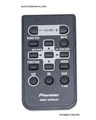 PIONEER CXE2758 REMOTE CONTROL