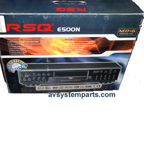 RSQ E500N Karaoke