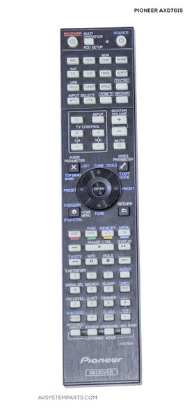 pioneer axd7615 remote control vsx 1018ah k vsx 9130txh k rh avsystemparts com Pioneer VSX 1021 K Pioneer VSX 1021 K