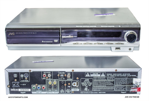JVC XV-HTC50 Receiver