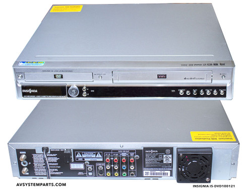 insignia is dvd 100121 dvd ns100121 dvd vcr recorder analog tv tuner rh avsystemparts com