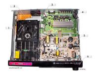 LG LHT874 Parts