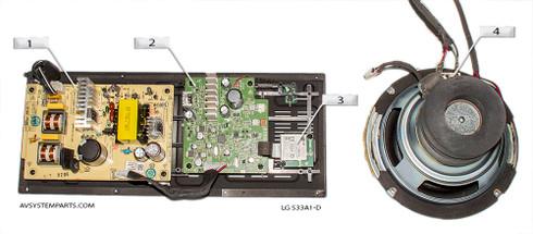 LG S33A1-D Sub