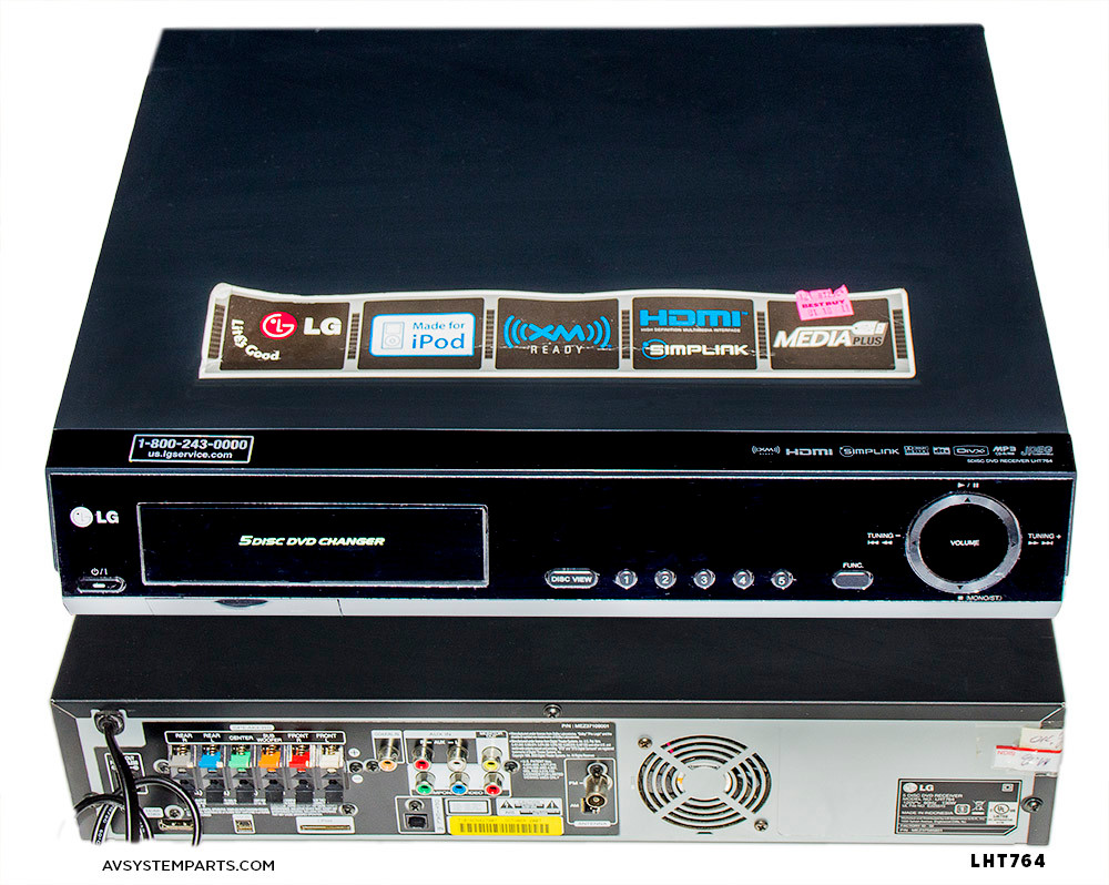 LG LHT764 Home Theater System Player 5 Disk,1000W, 5.1Ch