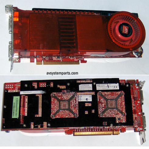 AMD ATI Radeon HD 3870 x2 B400