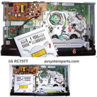LG RC797T parts